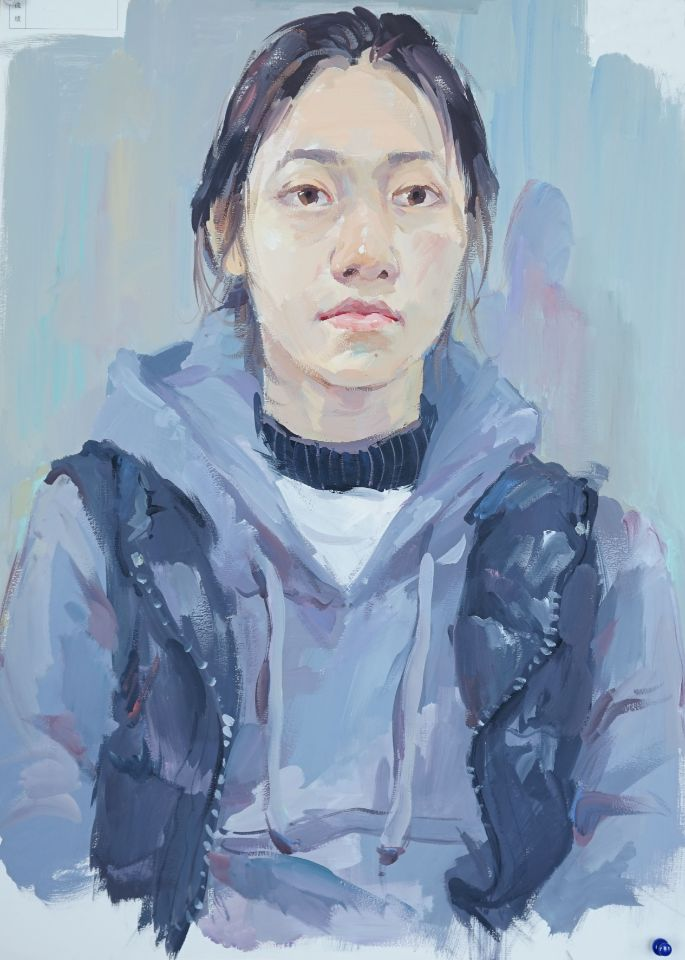 清华大学美术学院2017年造型类色彩高分试卷