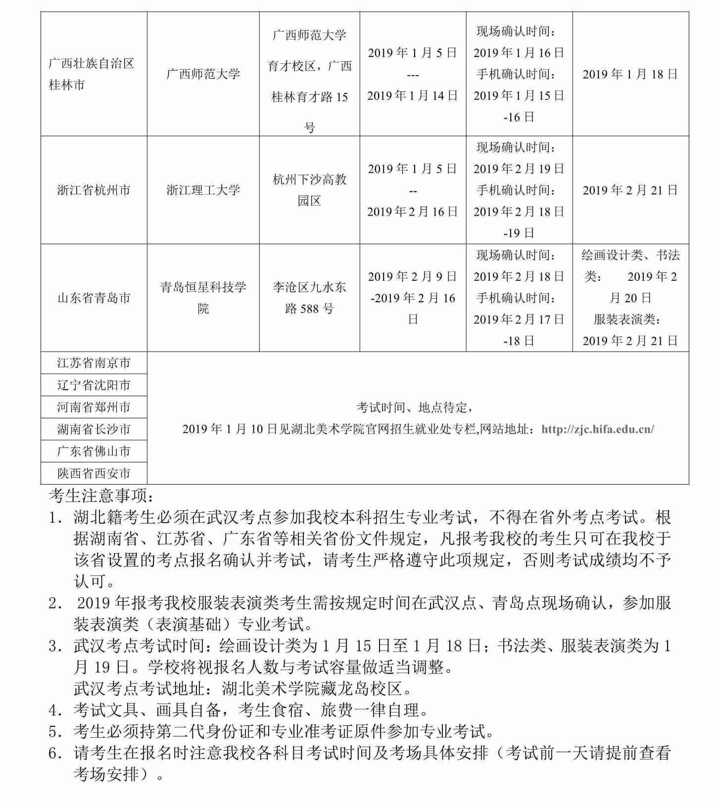 台灣美術學院2019年通俗本科招生簡章圖片06